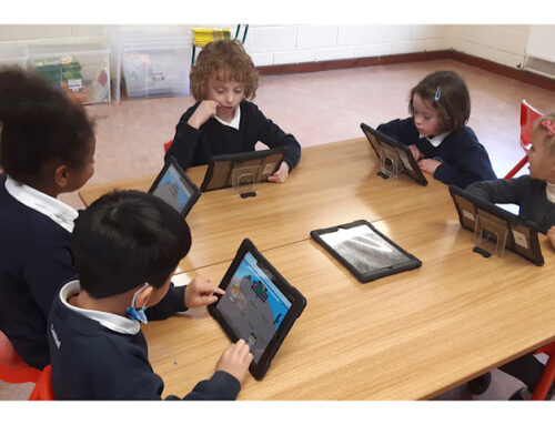 Maths Stations Fun in Room 9
